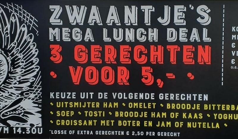 Zwaantje's Lunch deal