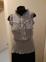 zgan grijs shirt/bloes CONOS mt L/XL