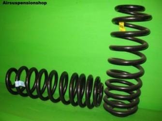 Hummer H2 spiraal veren achterzijde per paar