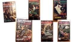 6 st. Pim Pandoer boeken (in één koop)