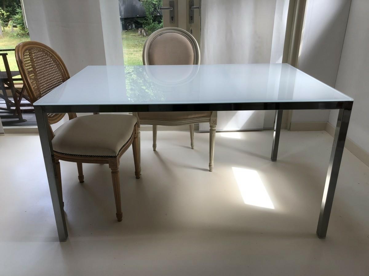 Verbazingwekkend Glazen eettafel (Ikea Torsby) - Texel - Koopplein.nl KB-58