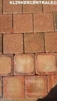19201 83m2 rood bruin betontegels betonklinkers dubbelklink…
