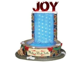 Lemax Frozen Fountain NU Eenmalig Afgeprijsd!