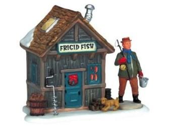 Lemax Frigid Fish Nog Slechts Enkele Verkrijgbaar!