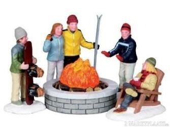 Lemax Fire Pit set of 5 Voor de laagste prijs!