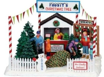 Lemax Frostys Christmas Tree Lot Eenmalige Actie!