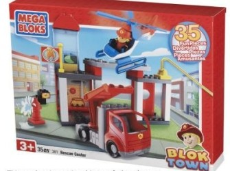 Megabloks Blok Town Rescue Center 381