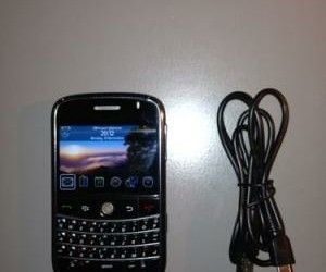 mooie Blackberry 9000 Bold