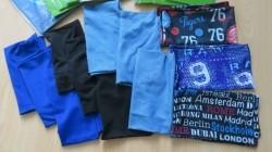 13 School boekenkaften van elastische stof - gebruikt