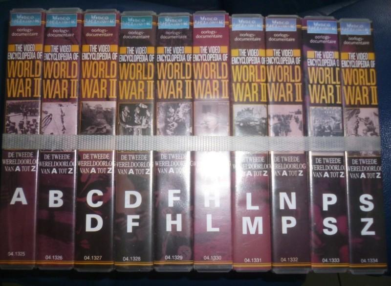 Oorlog Documentaire complete serie Video nieuw