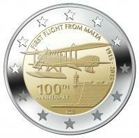 Malta 2 Euro 2015 -100 jaar Vlieggeschiedenis-