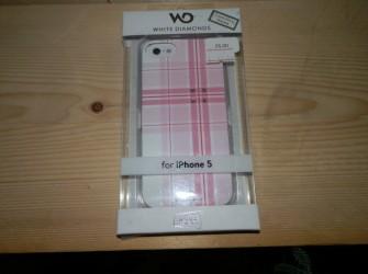 Iphone 5 roze hoesje met swarovski stenen
