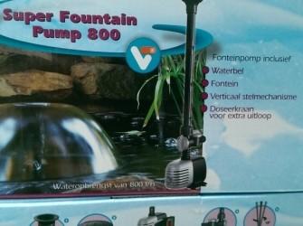 Super fountain pump 800,1000,2000,3000