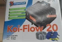 Luchtpomp Koi-flow 20,30,60