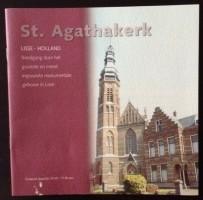 Boekje - St. Agathakerk - Lisse (11 blz)