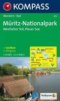 Wandelkaart 853 Müritz-Nationalpark, Westlicher Teil, Plaue…