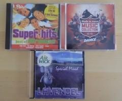 drie reclame CD's van Flair, Shell en Airwick.