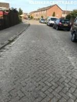 19234 ROOIKORTING 2.000m2 heide rood betonklinkers straatst…
