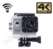 4k Ultra HD sports action camera met lcd scherm en Wifi - z…