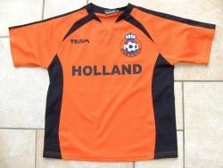 Shirt oranje maat 140