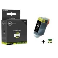 Geschikt Canon PGI-520BK inktcartridge Zwart MET CHIP van I…
