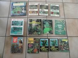 E 2,50 per stuk Boeken over TUIN(ieren) en PLANTEN, enz.