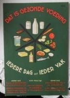 Oud foldertje - Dat is gezonde voeding - 1956