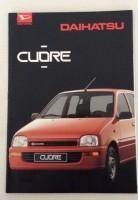 Folder/brochure - Daihatsu Cuore