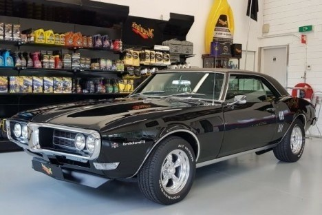 Pontiac Firebird Coupe with 400.4 Complete Restoration
