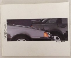 Folder/brochure - Volvo 440 (33 blz)