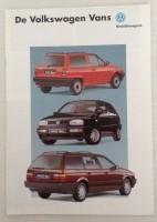 Folder - Volkswagen Vans - 1993