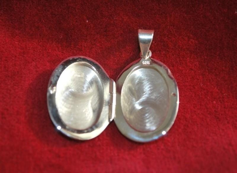 Zilver Medaillon hanger nieuw