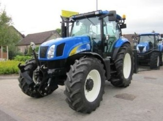 New Holland T6050, 2010, 472 hours, frontlinkage