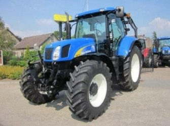 New Holland T6070RC, Frontlinkage, 40km/h ECO