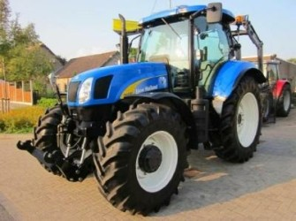 New Holland T6080PC, 50km/h, frontlinkage, LOW hours!!
