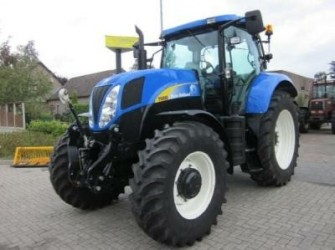 New Holland T6080PC, New Model, frontlinkage, 2010