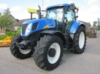 New Holland T7040 Sidewinder III, GPS guidance ready, 2010!…