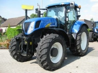 New Holland T7040PC, 50km/h