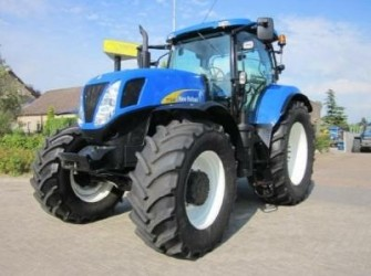 New Holland T7040PC, 50km/h, 701 hours!!