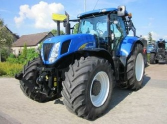 New Holland T7060, SIDEWINDER III, Frontlinkage, air