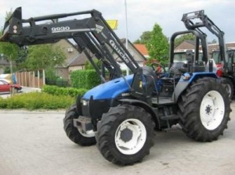 New Holland TL 80, Power Shuttle, Frontloader, low hours