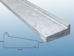 hardsteen raamdorpels / lekdorpels 220 cm !!!