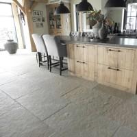 landelijke keukenvloer Castle Stone Yellow 60x90 cm !!