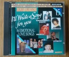 """De verzamel-CD """"Golden Love Songs Volume 15"""" van Arcade."""