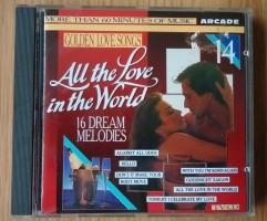 """De verzamel-CD """"Golden Love Songs Volume 14"""" van Arcade."""