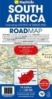 Wegenkaart - Landkaart Zuid-Afrika (met Lesotho & Swaziland…