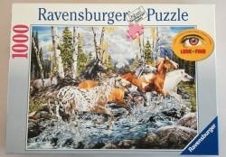 Wilde Paarden puzzel 1000 stukjes.