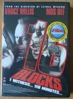 """Te koop de nieuwe originele DVD """"16 Blocks"""" met Bruce Willi…"""