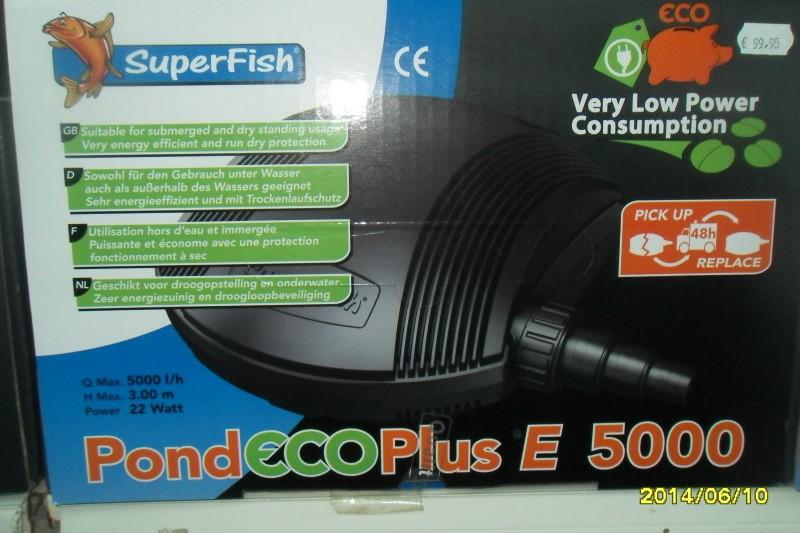 Pond Eco Plus E 5000&8000 vijverpompen.