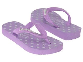 NIEUW! Havaianas babyslippers mt 25/26 lavendel